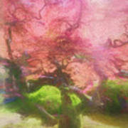 Courage Tree Art Print