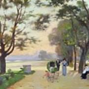 Cours La Reine Paris Art Print