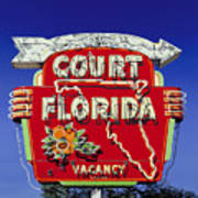 Court Florida Art Print