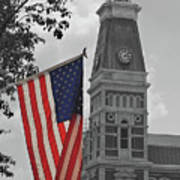 Courthouse In America Art Print