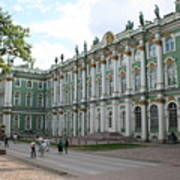 Courtyard Eremitage - Saint Petersburg Art Print