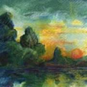 Cove Contento Art Print