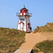 Covehead Harbour Lighthouse 5701 Art Print
