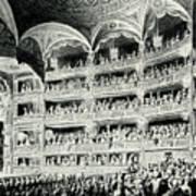 Covent Garden Theatre, 1795 Art Print