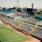 Coventry City - Highfield Road - East Stand Swan Lane 2 - August 1991 Art Print