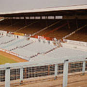 Coventry City - Highfield Road - North Side Thackhall Street Stand 2 - September 1969 Art Print