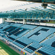 Coventry City - Highfield Road - South Side Main Stand 3 - August 1997 Art Print