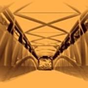 Covered Bridge 3 Art Print