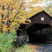 Covered Bridge Number 22 Art Print