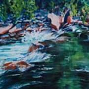 Covington Falls Art Print