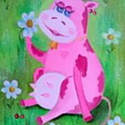 Cow Art Print