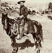 Cowboy, 1887 Art Print