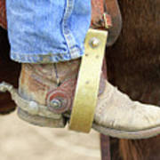 Cowboy Boot Art Print