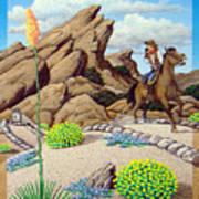 Cowboy Concerns Art Print