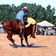 Cowboy Conundrum Art Print