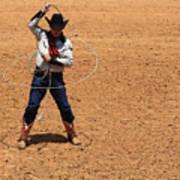 Cowboy Entertainer Art Print