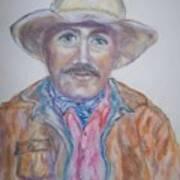 Cowboy Jim Art Print