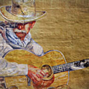 Cowboy Poet Art Print