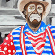 Cowboy Savior Art Print
