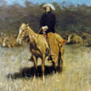 Cowboy Singing Art Print