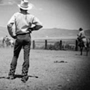 Cowboy Stance Art Print