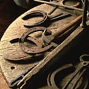 Cowboy Tools Art Print