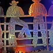 Cowboys 1 Art Print