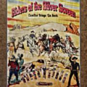 Cowboys And Knives Art Print