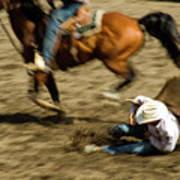 Cowboy's Grip Art Print
