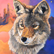 Coyote The Trickster Art Print