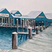 Crab Deck Art Print