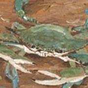 Crab Season Art Print
