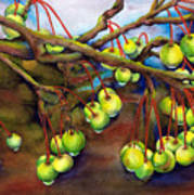 Crabapple Dew Art Print