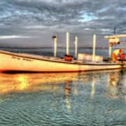 Crabbing Boat Beth Amy - Smith Island, Maryland Art Print