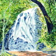 Crabtree Falls - Phantom Of The Blue Ridge Art Print