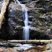 Crabtree Falls In Fall Art Print