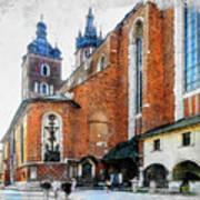 Cracow Art 1  Art Print