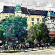 Cracow Art 2 Wawel Art Print