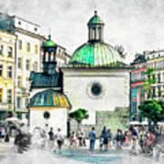 Cracow Art 3 Art Print