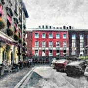 Cracow Art 4 Kazimierz Art Print