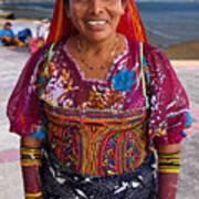 Craft Vendor In Panama City, Panama Art Print