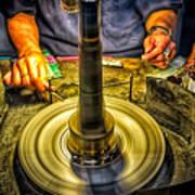 Craftsman Jewelry Maker Art Print