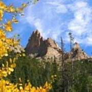 Crags In Fall Art Print