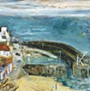 Crail Harbor Art Print