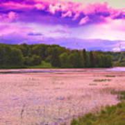 Cranberry Glade Lake Art Print