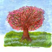 Cranberry Melody Art Print