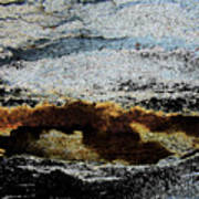 Crater Island Art Print