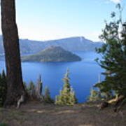 Crater Lake 11 Art Print
