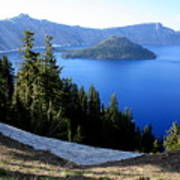 Crater Lake 12 Art Print
