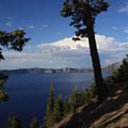 Crater Lake 7 Art Print